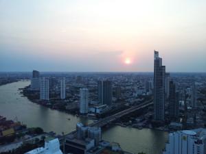 Utsikt från balkong, Lebua State Tower Hotel