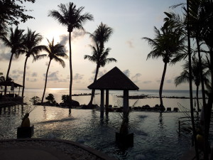 Centara Villas Samui Hotell, pool