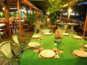 Phi Phi Lodge, restaurang