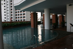 Lebua State Tower Hotel, pool