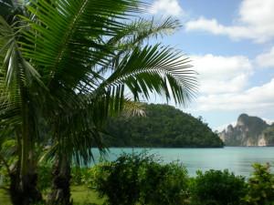 PhiPhi Ilsand Cabana  hotell,utsikt
